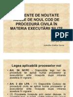 Elemente de Noutate Aduse de NCPC in Materia Executarii Silite-ConfUnivDrJudecatorEvelinaOprina