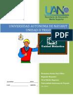 Unidad didáctica II Trigonometría