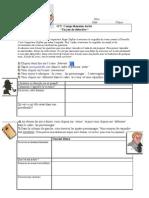 Cours ICT-compréhension écrite-jeu de détective-livret de travail
