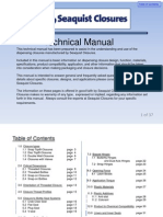 Closures Technical Manual 14nov2008