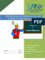 Unidad didáctica II Funciones algebraicas