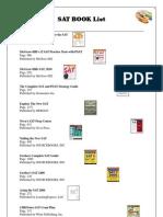 Sat Book List