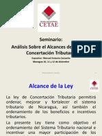 Diapositivas Concertación tributarias