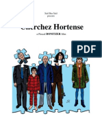 Looking for Hortense by Bonitzer with jean-Pierre Bacri, Kristin Scott Thomas and Isabelle carré - 2012 Press Kit French