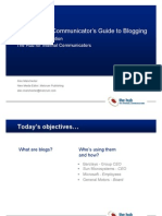 The Internal Communicator Guides to Blogging