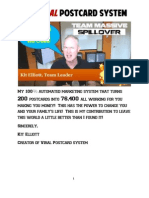 Viral Postcard Marketing System