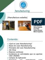 Lean Manufacturing- Introduccion