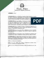 Decreto 543-12 Reglamento Compras y Contrataciones de Bienes y Servicios