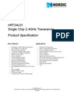nRF24L01 Product Specification v2 0