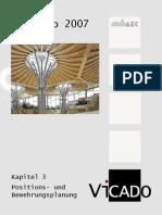 3 Positions- Und Bewehrungsplanung ViCADo2007