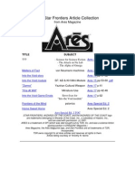 Star Frontiers Ares Archive