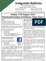 2013-08-11 - 19th Ordinary Year C