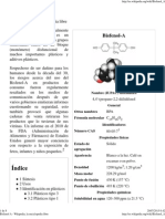 Bisfenol a - Plastico Recubrimiento Latas Cancer Prostata Wikipedia, La Enciclopedia Libre
