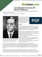 DIETA ALCALINA Y ACIDA--Premio Nobel por descubrir la causa del cáncer_ Otto Heinrich Warburg - Webislam