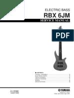 Yamaha Rbx 6jm