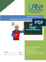 Unidad didáctica I Geometría Euclidiana