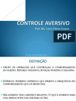 Controle Aversivo