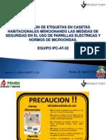Evidencia Colocacion de Recomendaciones Parrillas Electricas y Microondas 200513