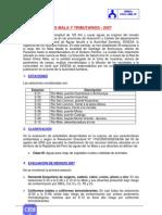 RÍO MALA Y TRIBUTARIOS - 2007