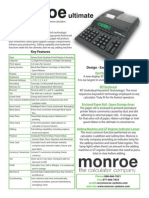 Monroe Ultimate Brochure