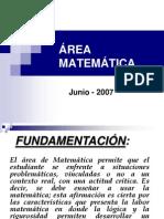 Area Matematica