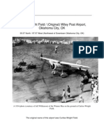 Wiley Post Airport History