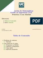 Practica_3-Diferencias Finitas Problemas de Contorno