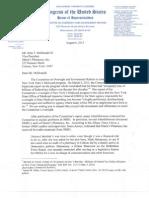 McDonMcDonald letter