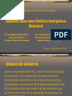 UCSM - Apuntes Politica Energética Regional1
