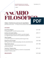 Anuario Filosófico Vol 45 2 (2012)