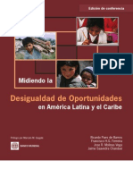 BANCO MUNDIAL Midiendo La Desigualdad de Oportunidades
