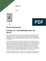 Sur Racine, poetique et philologie.docx