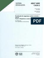 NBR 13434-3 - 2005 - Requisitos e Metodos de Ensaios
