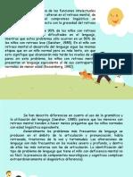 Características lingüistícas del niño con diversidad cognitiva