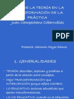 USOS DE LA TEORÍA EN LA TRANSFORMACIÓN DE