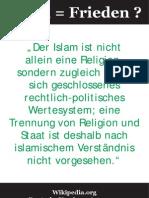 Islam Frieden