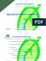 Analisis de Riesgo Ambiental Ppt