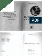 65328078 O Seminario Livro 19a O Saber Do Psicanalista