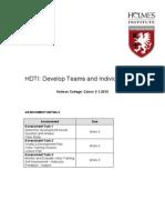 HDTI Workbook