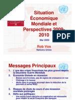Vue d'Ensemble des Perspectives Économiques