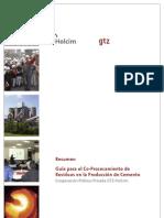 Resumen de Guia de GTZ Para El Co Procesamiento de Desechos