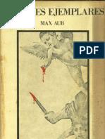 Max Aub - Crímenes ejemplares