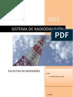 SISTEMAS DE RADIODIFUSIÓN ORIGINAL