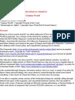 Magazine Indexes-Gamma World