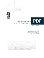 criminalidad y prisión en la araucanía chilena. 1852-1911