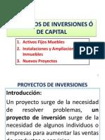 1 Clasificación Proyectos de Inversión