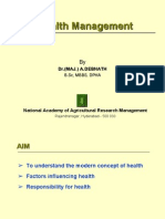 Health Management - Dr.a.debanath 2