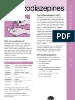 Benzos Factsheet2011
