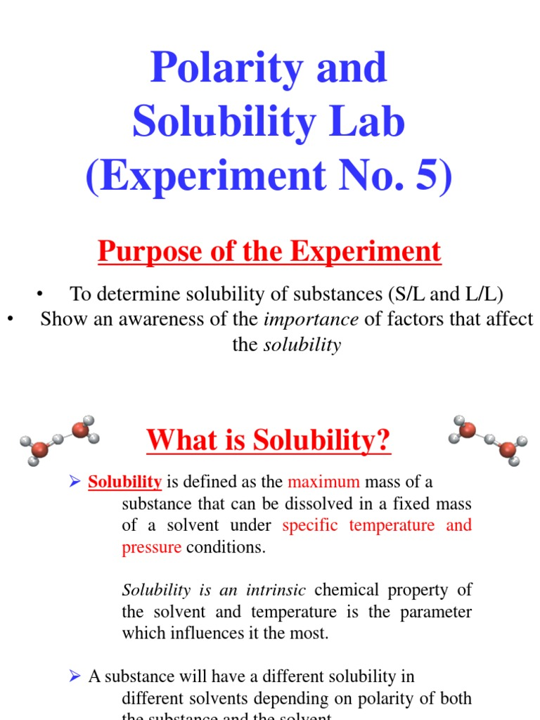 Integrated Physics And Chemistry Solutions Worksheet 2 Solubility ...