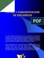 FATIGA Y CONCENTRACIÓN DE ESFUERZOS